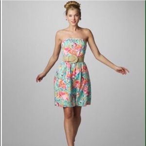 Lilly Pulitzer Peel and Eat Flamingo Dress